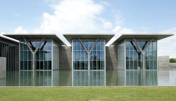 موزه هنر مدرن فورت ورث اثر تادائو آندو( Tadao Ando )