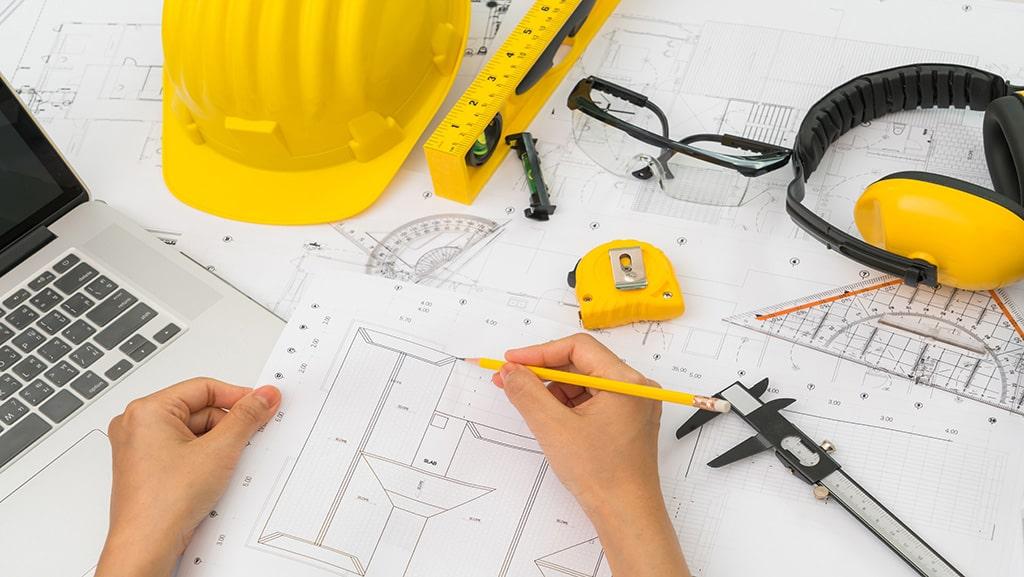 آموزش ستونگذاری پلانهای معماری استوارسازان
