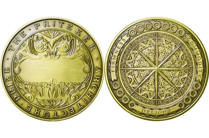 مدال پروژه آراتا ایسوزاکی برنده جایزه معماری پریتزکر