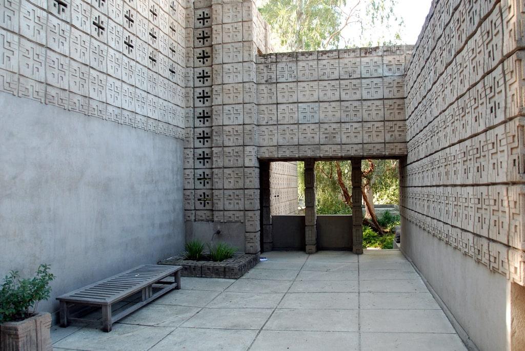 طرح چینی اجرا شده توسط فرانک لوید رایت