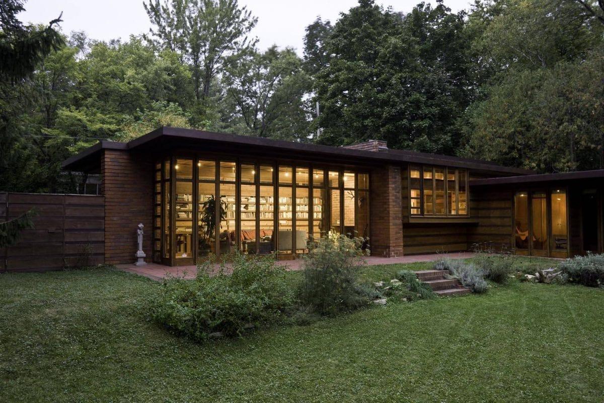 خانه طراحی شده توسط فرانک لوید رایت