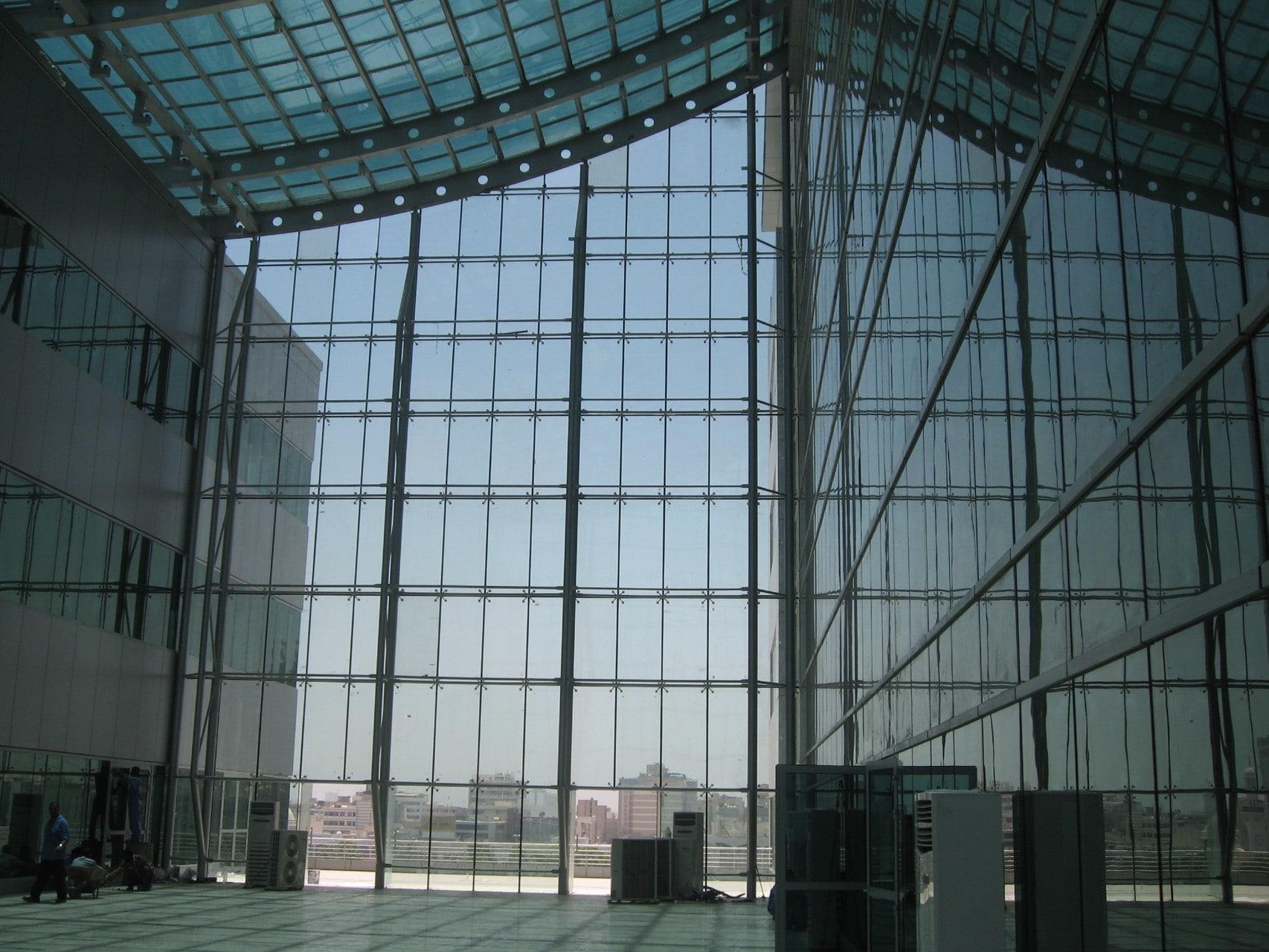 نمای شیشه ای نوع دیگر به شرح تصویر