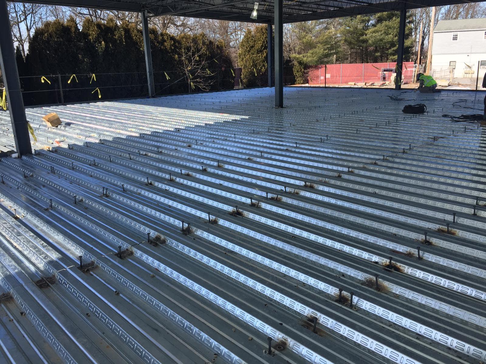 کارایی سقف عرشه فولادی در ساختمان
