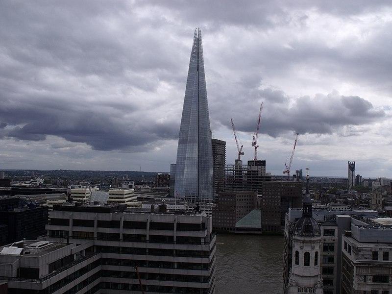 معماری برج لندن اثر رنزو پیانو