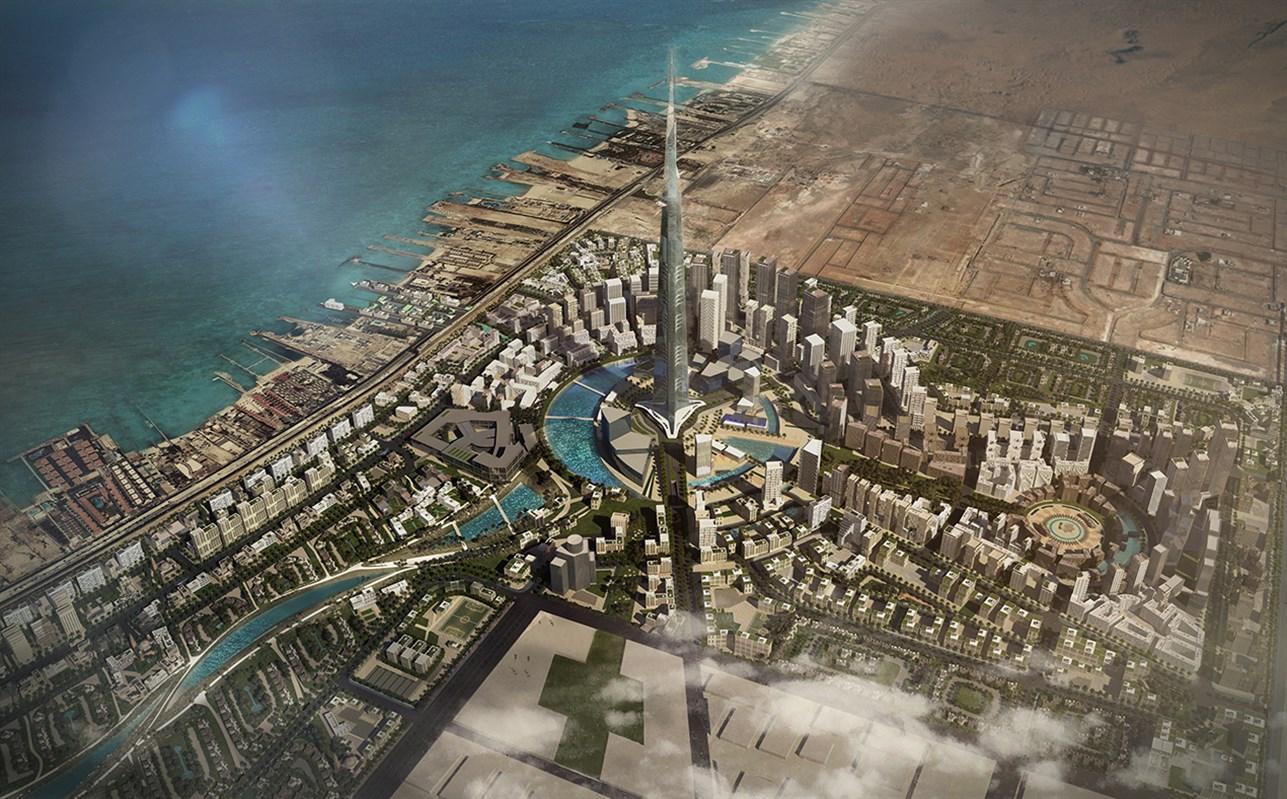 برج المملکه در عربستان