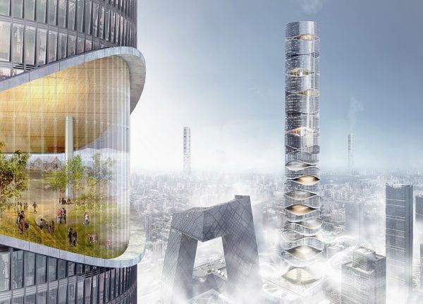 رتبه دوم مسابقه معماری eVolo 2019