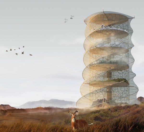 رتبه سوم مسابقه معماری evolo 2019