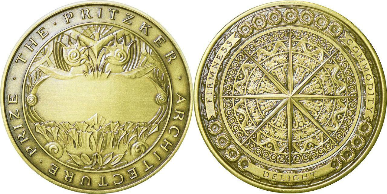 مدال جایزه معماری پریتزکر