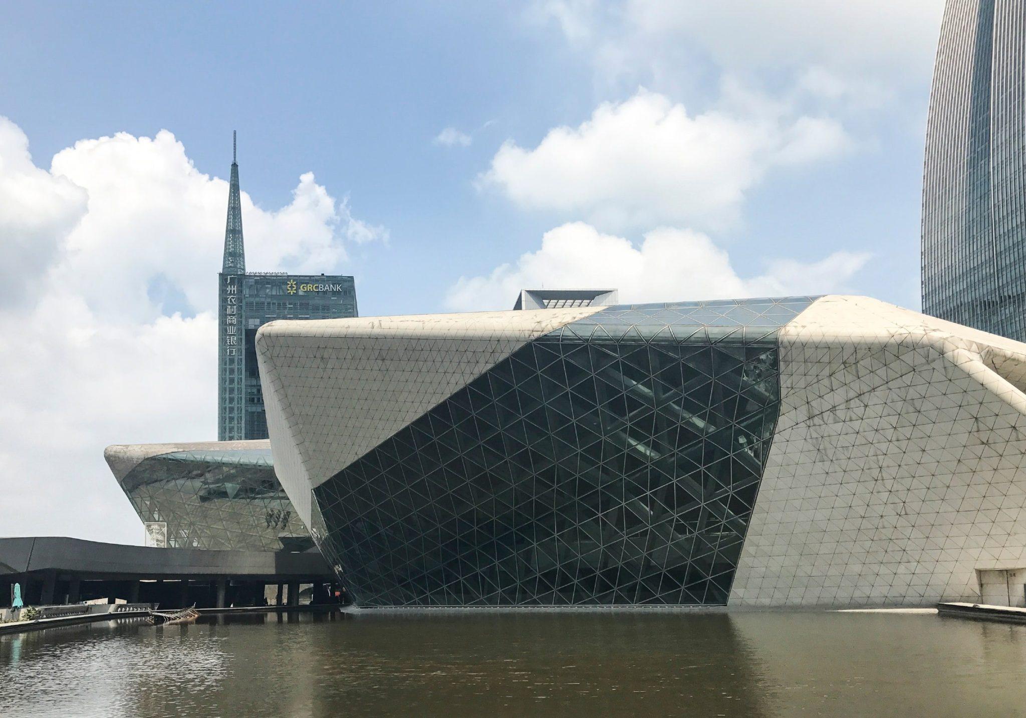 سالن اپرای گوانگژو ساخته زاها حدید ostovarsazan.com