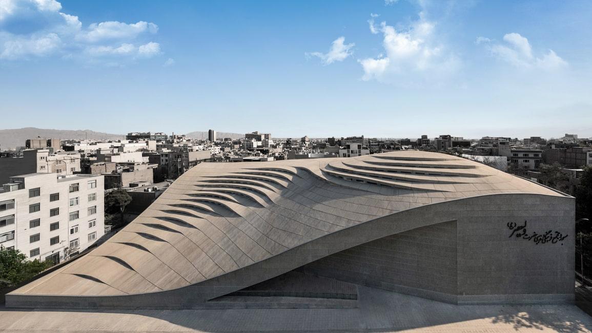 مسجد ولیعصر تهران فستیوال جهانی معماری WAF 2018