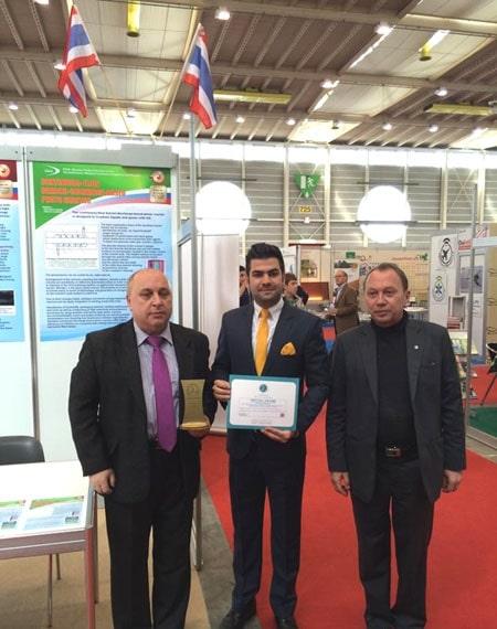 طرح برنده مسعود شفقی ostovarsazan.com