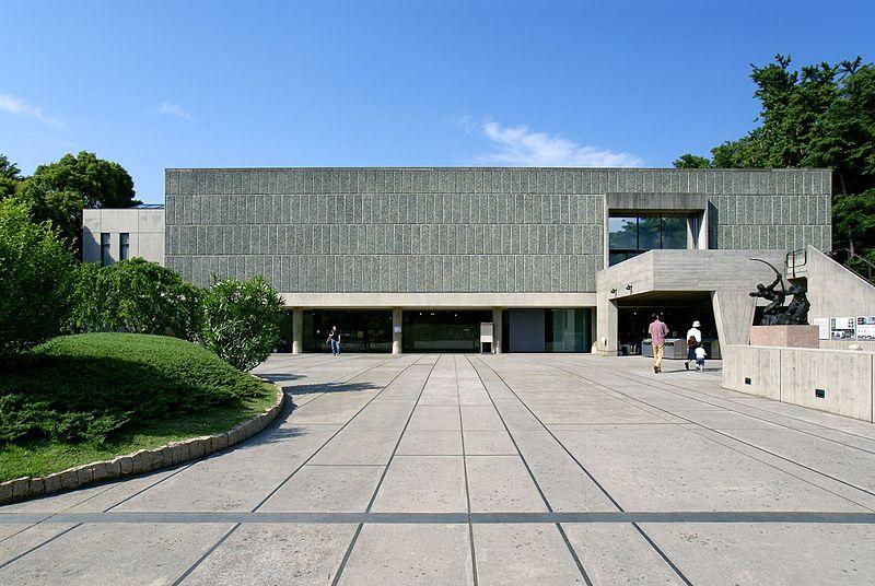 لوکوربوزیه ostovarsazan.com ساختمان موزه ملی هنر غرب