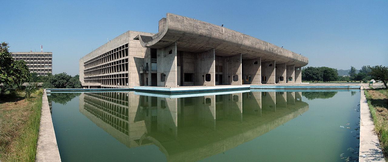 از لوکوربزیه ostovarsazan.com Palace of Assembly, Chandigarh پروژه