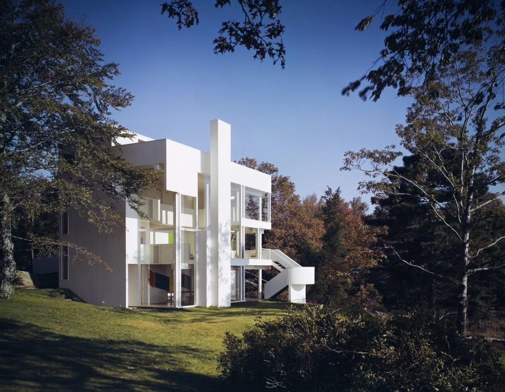 فلسفه معماری ریچارد میر ostovarsazan.com
