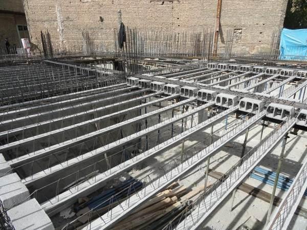 شرایط نگهداری سقف تیرچه بلوک پس از اجرا ostovarsazan.com