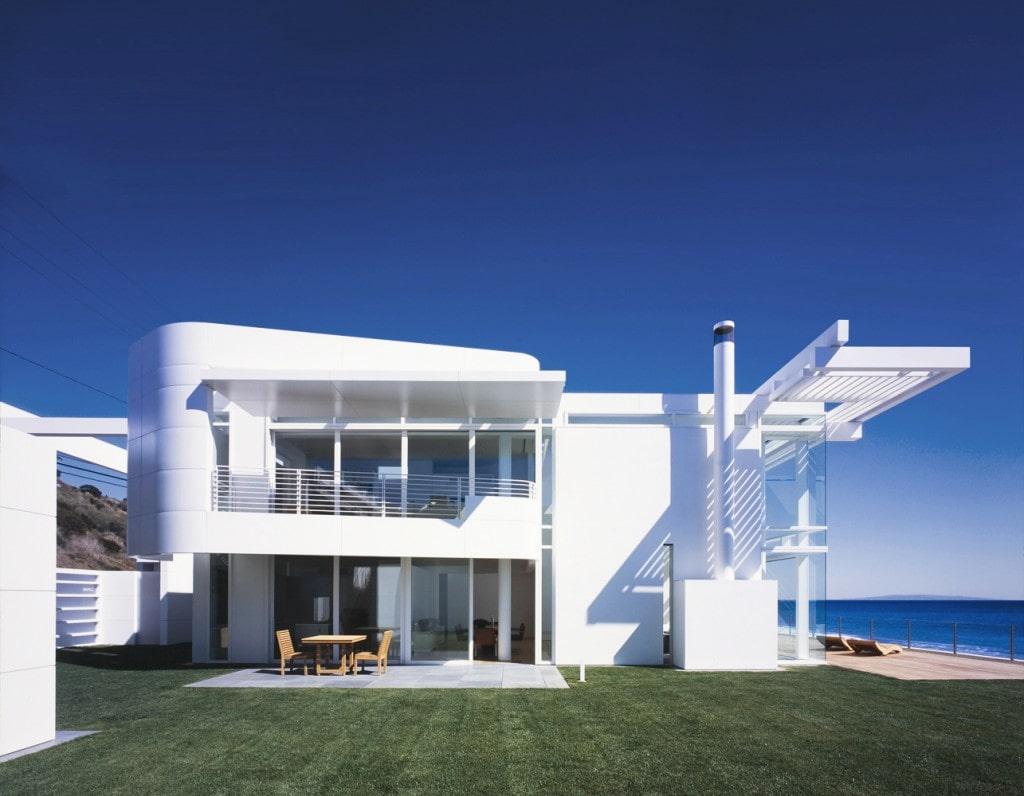 ostovarsazan.com طراحی خانه ساحلی ریچارد میر در کالیفرنیا