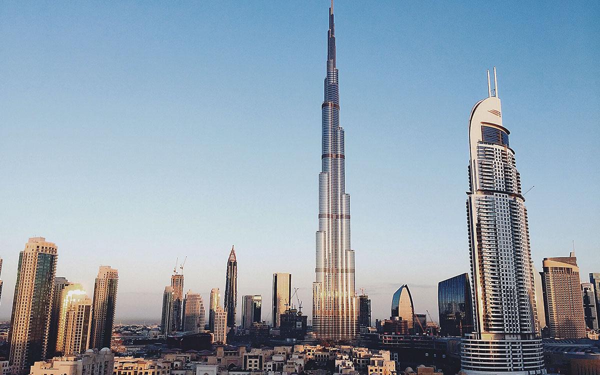 ادرین اسمیت برج خلیفه