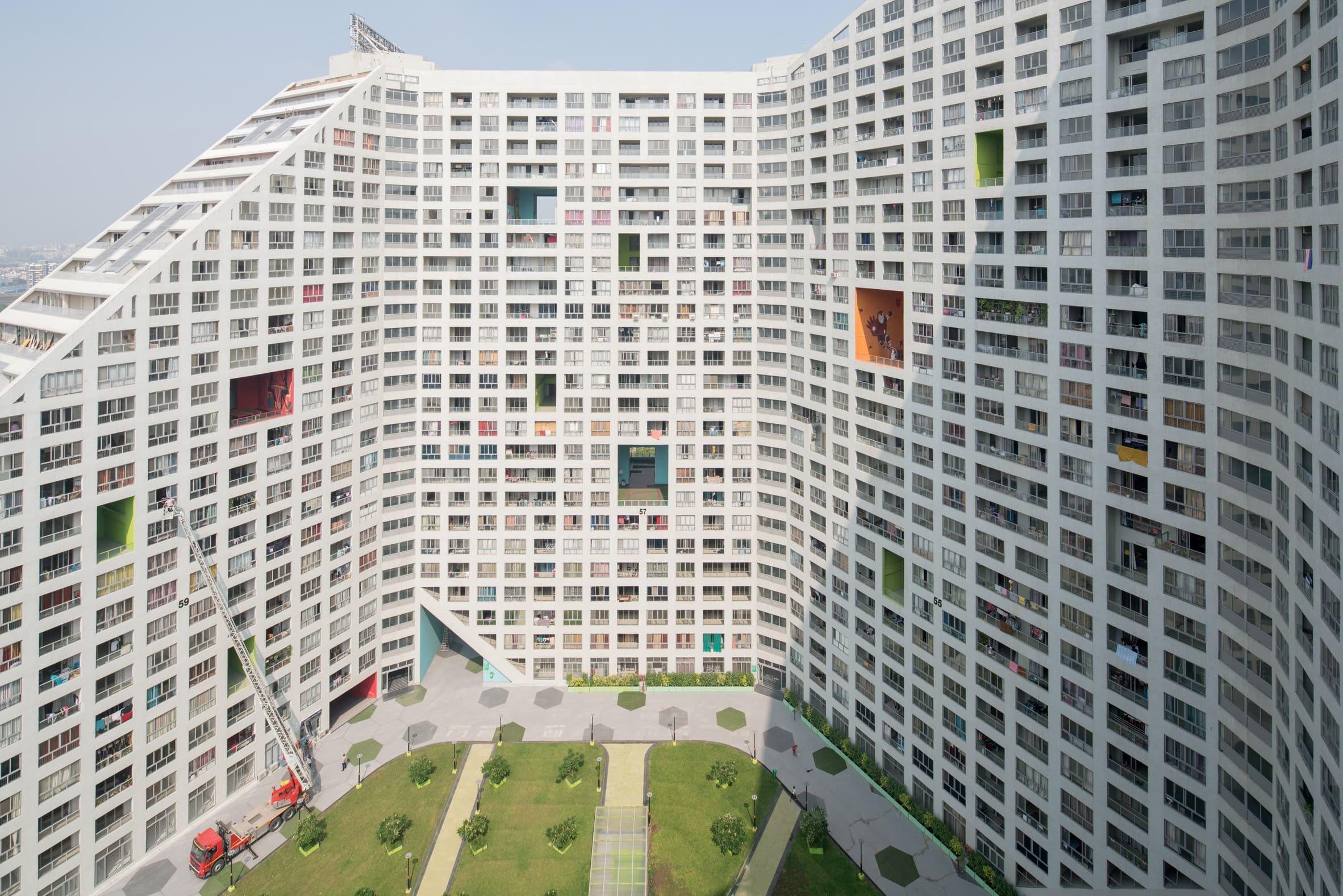زیباترین ساختمان مسکونی