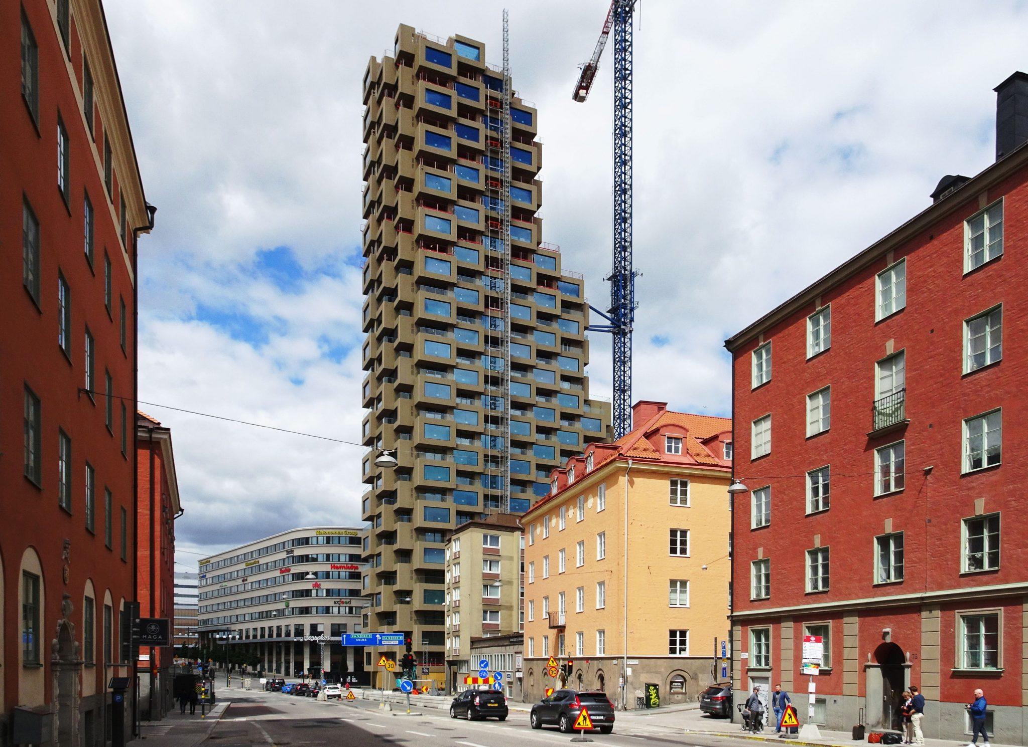 زیباترین ساختمان در سوئد