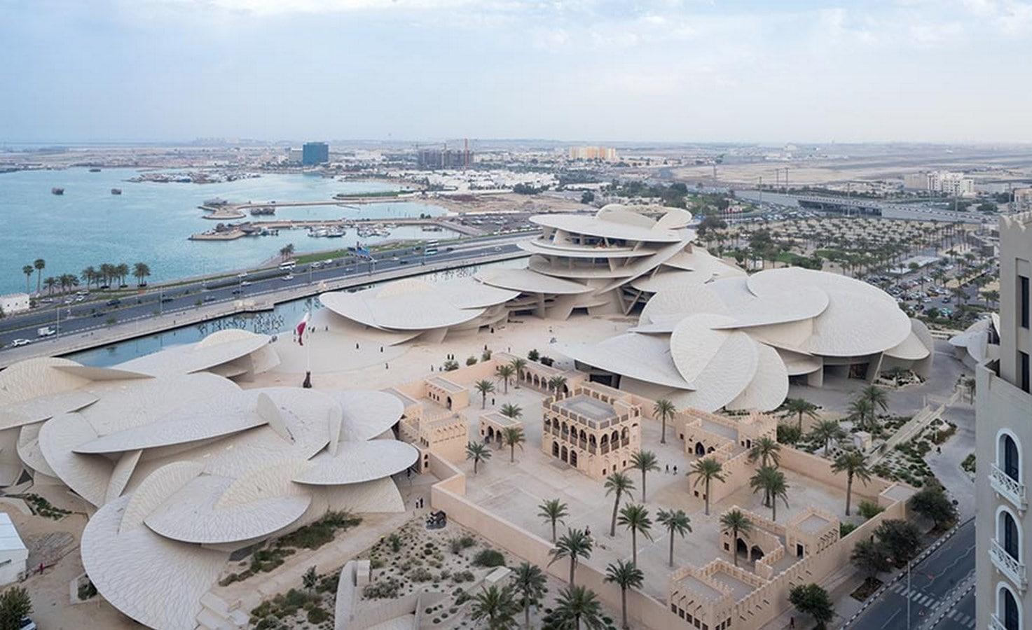 زیباترین ساختمان قطر