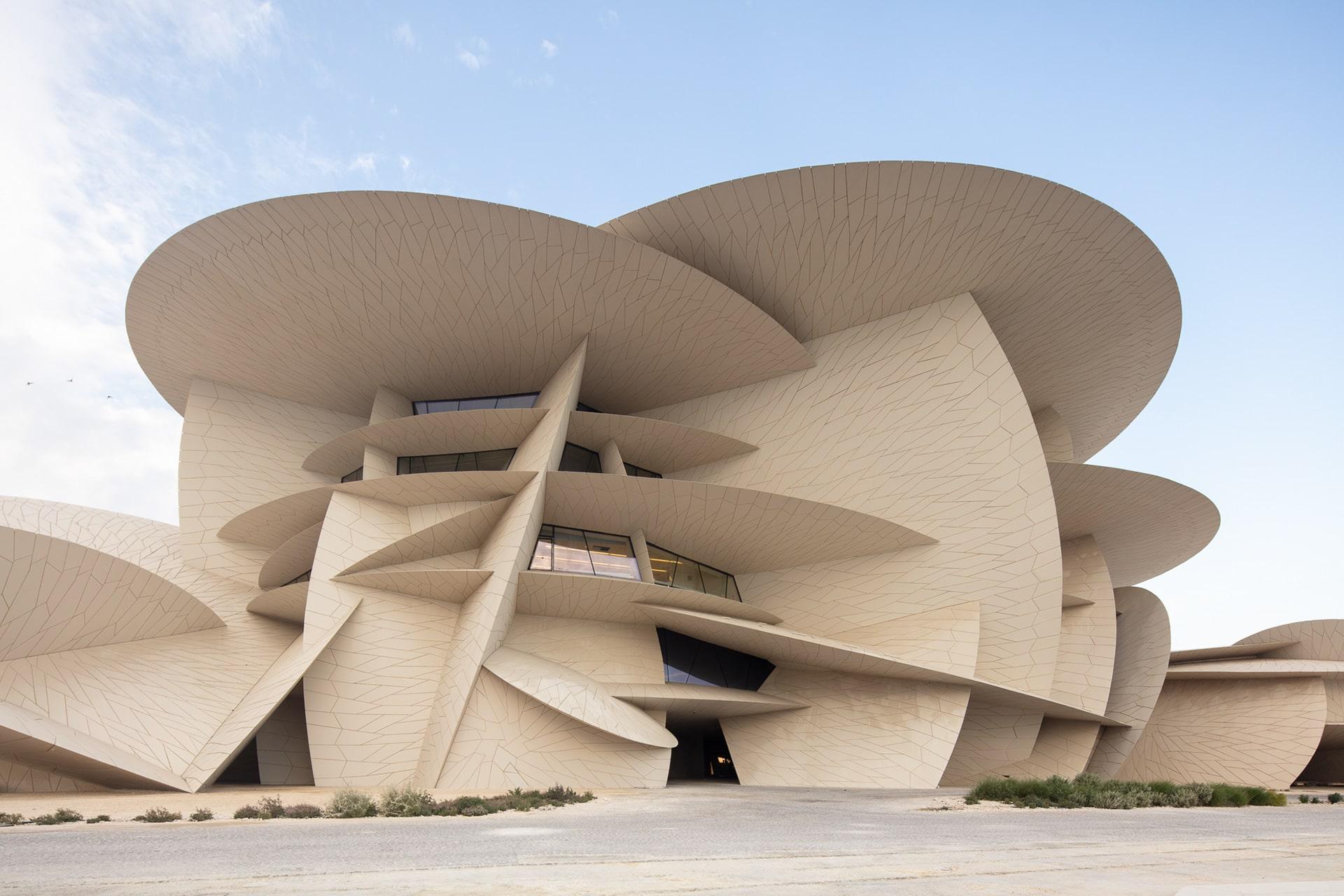 زیباترین ساختمان دوحه قطر