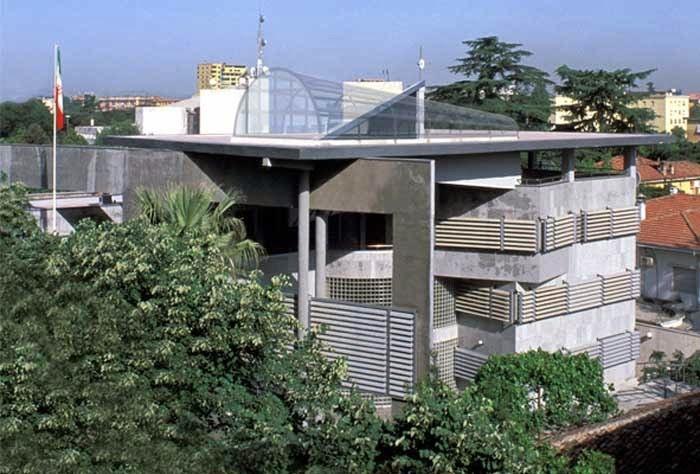 طراحی سفارت ایران علی اکبر صارمی