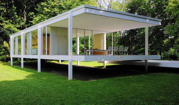 لودویگ میس فن در روهه خانه فارنزورث