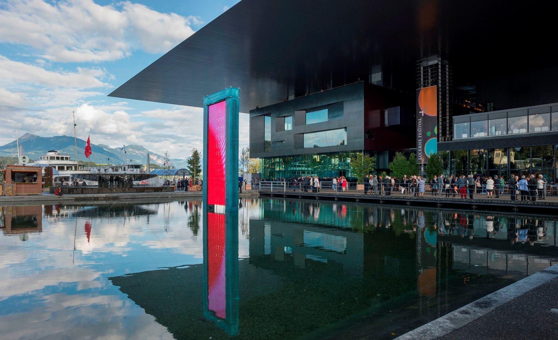 ژان نوول Lucerne Culture and Congress Centre