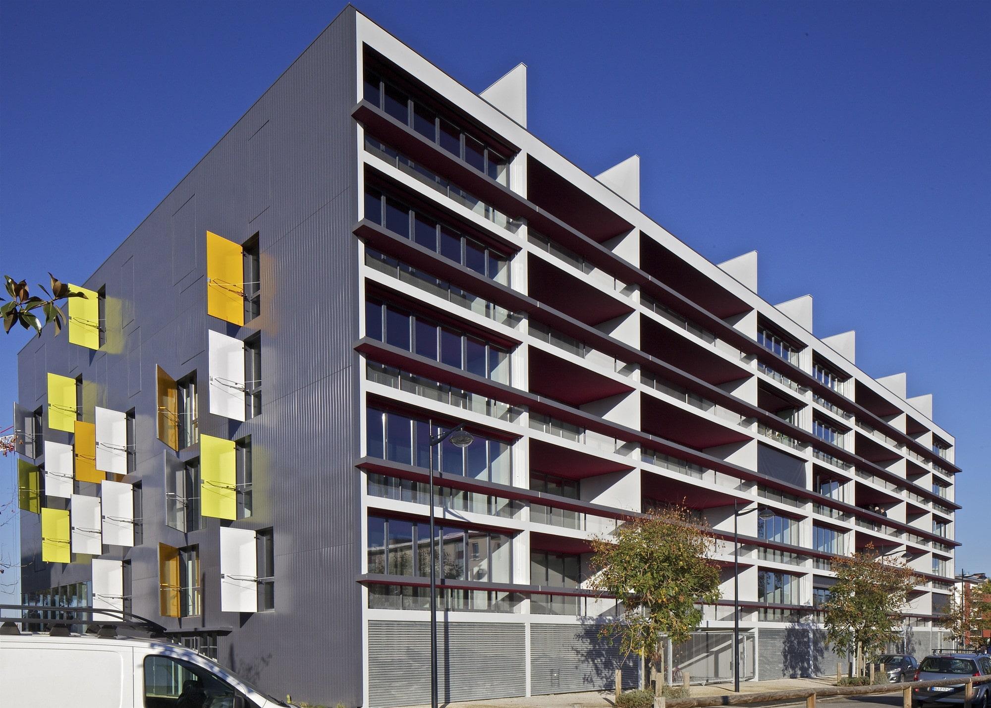 ژان نوول Bordeaux Residential Complex, France