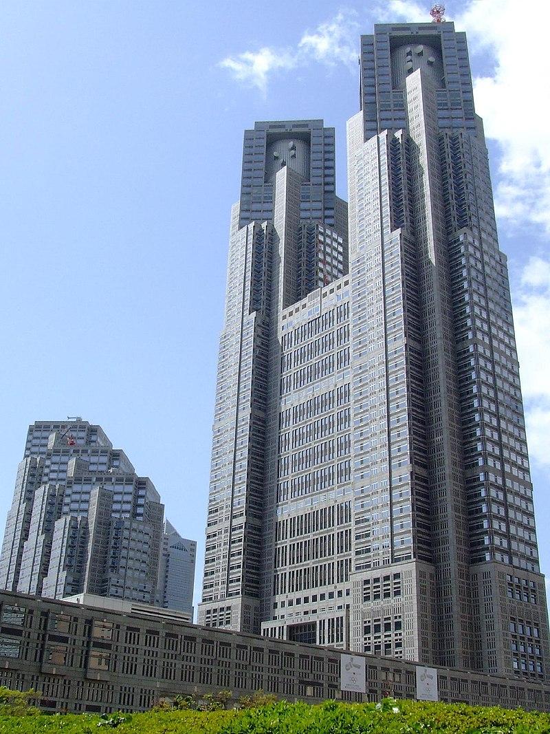 کنزو تانگه ساختمان شهرداری توکیو