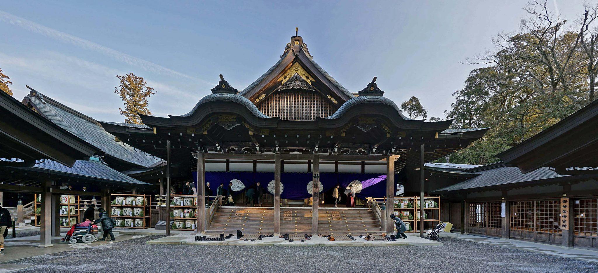 کنزو تانگه Ise Shrine