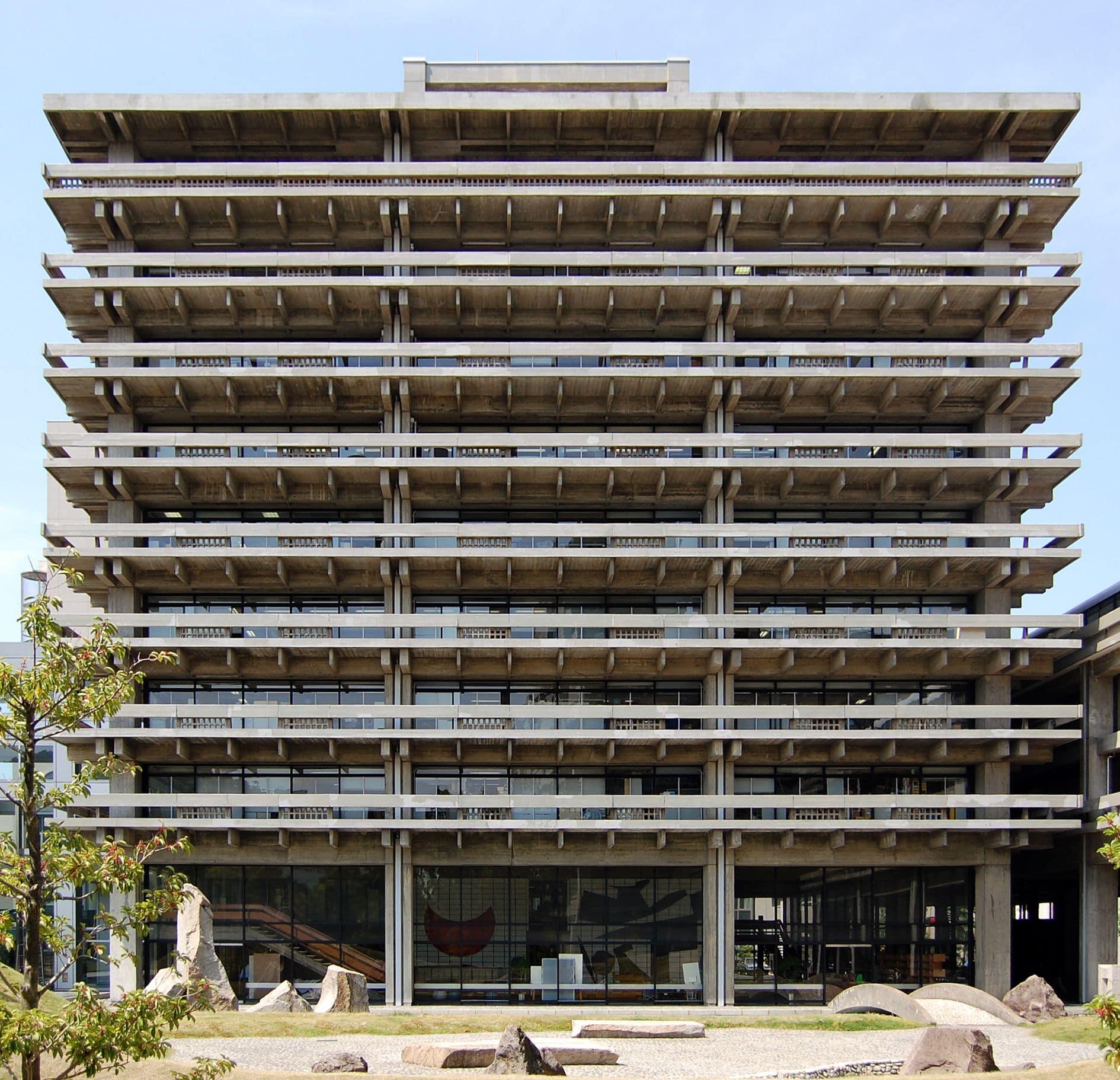 کنزو تانگه Kagawa Prefectural Government Hall