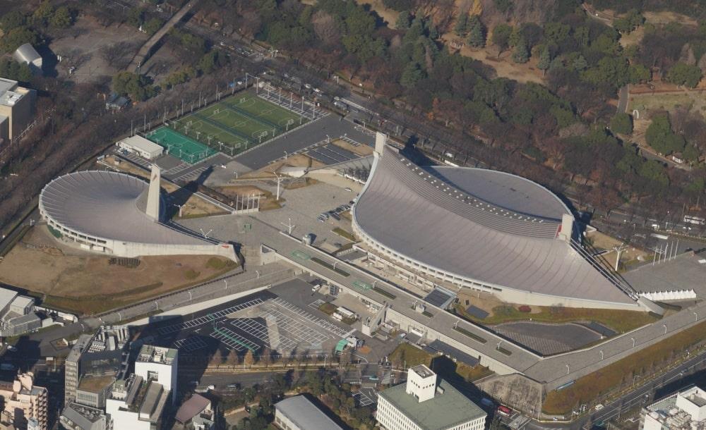 کنزو تانگه Tokyo Olympic arenas