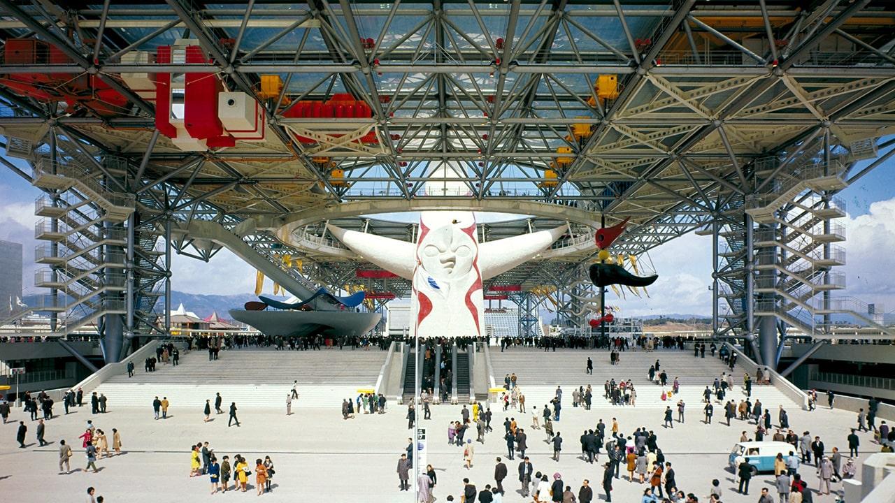کنزو تانگه Osaka Expo Festival Plaza