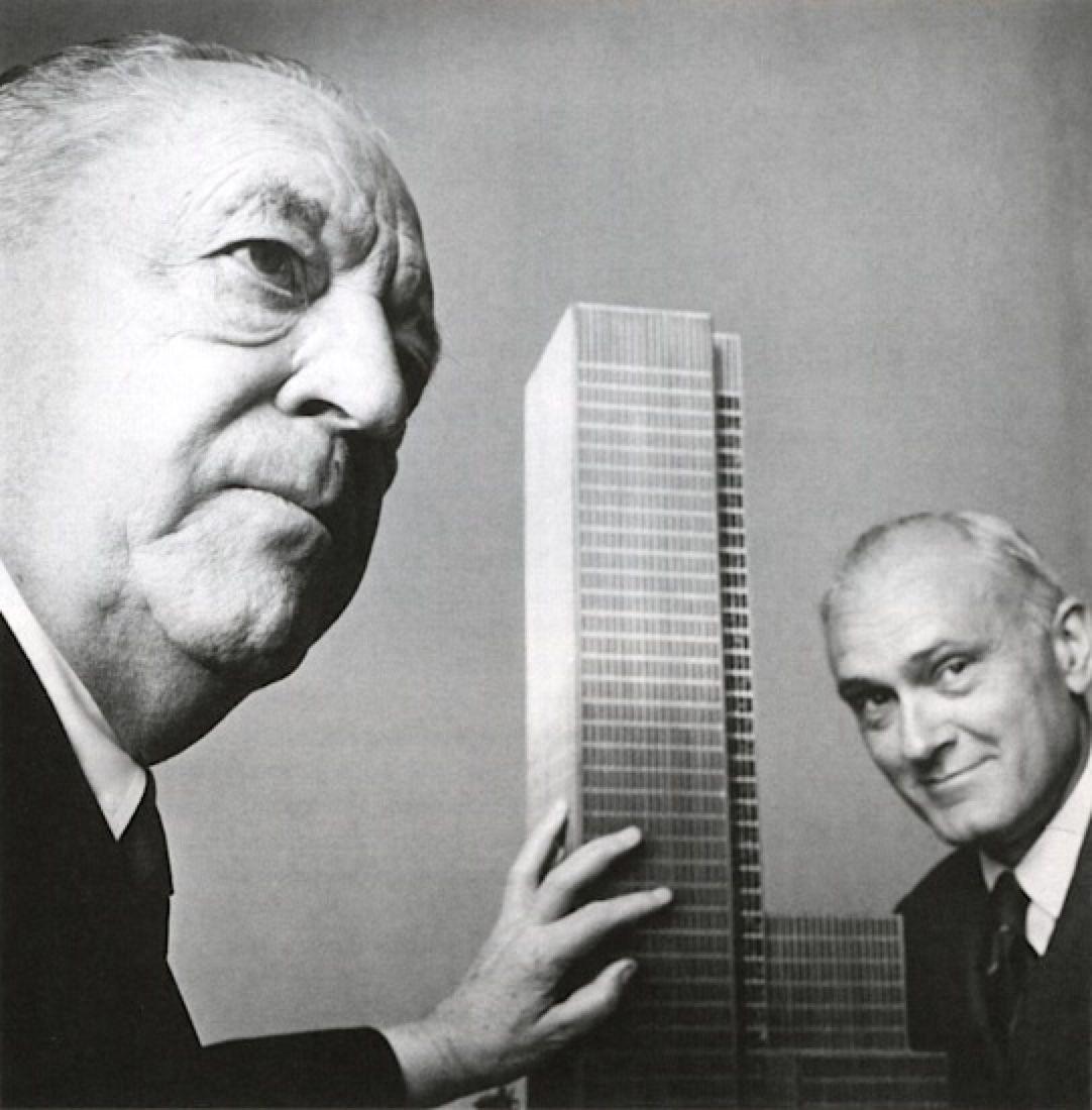 فیلیپ جانسون و معماران بزرگ