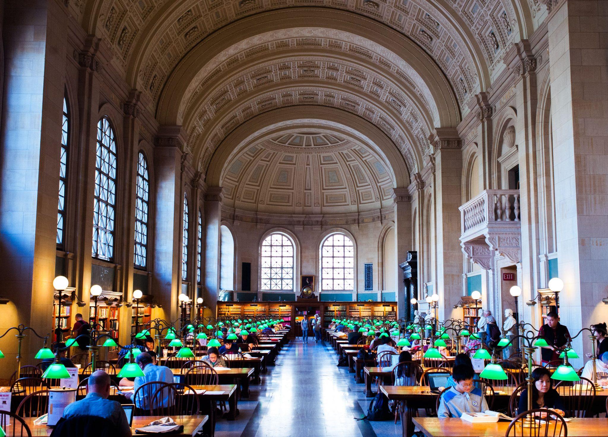 فیلیپ جانسون Boston Public Library