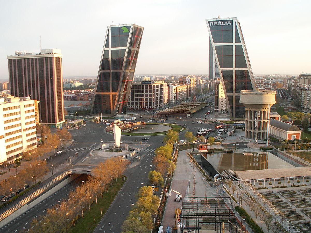 فیلیپ جانسون Gate of Europe Towers