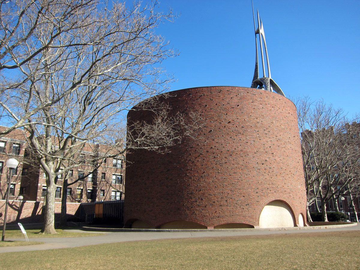 ارو سارینن MIT Chapel Cambridge interior