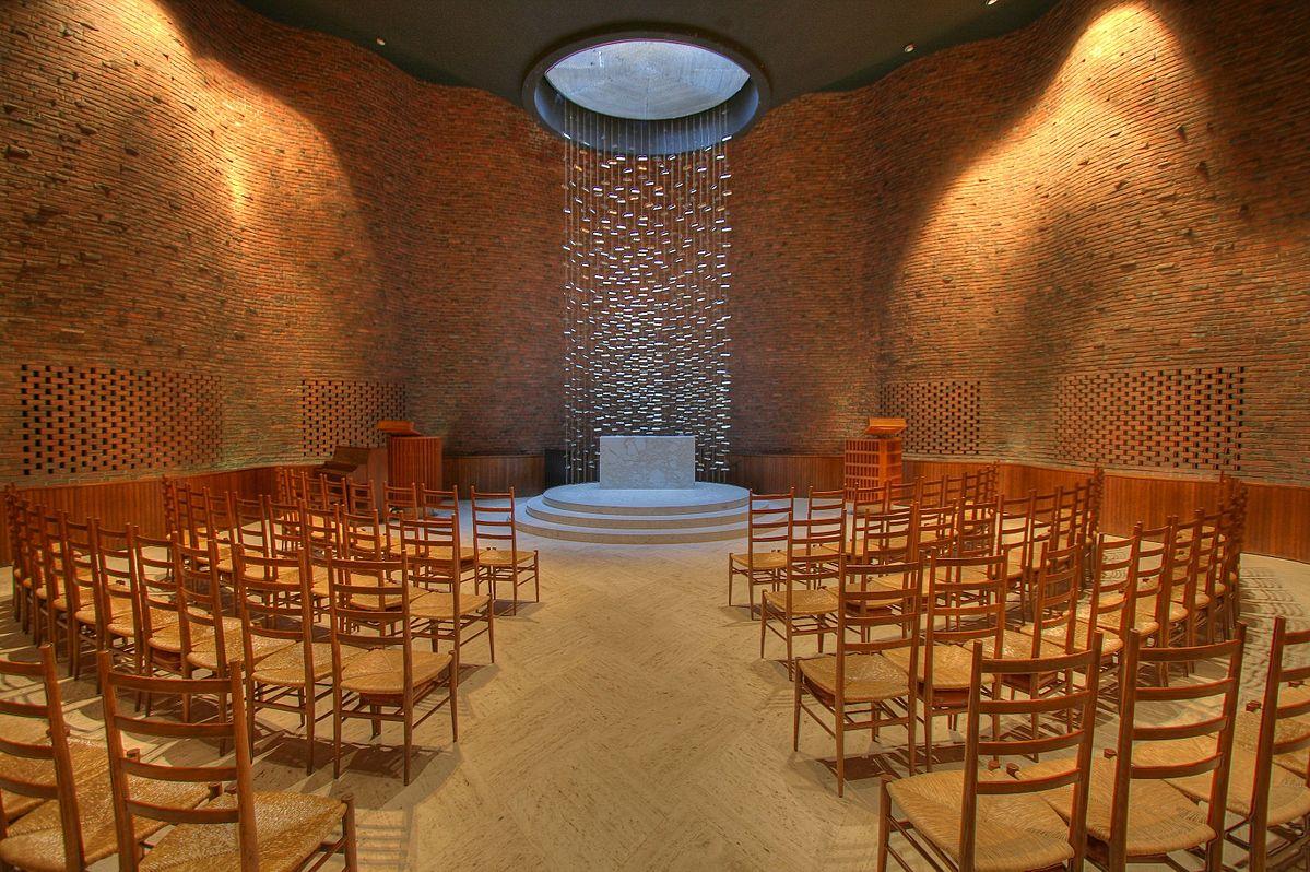 ارو سارینن MIT Chapel Interior