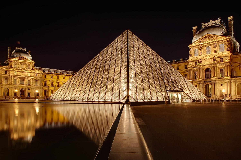 تصاویر سازه آی ام پی Louvre Pyramid (3) استوارسازان