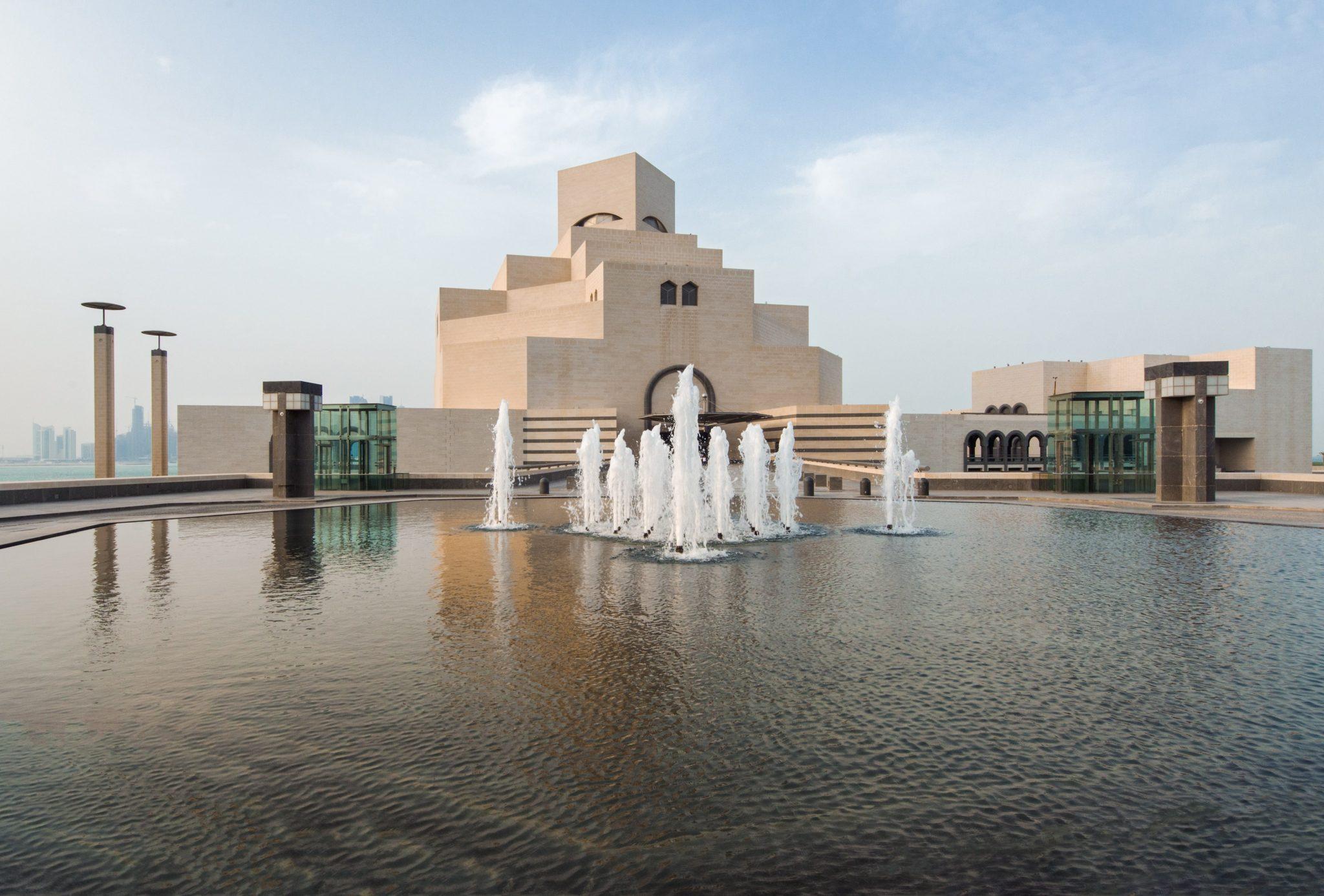 نماهای موزه هنر اسلامی ساخته آی ام پی استوارسازان 2