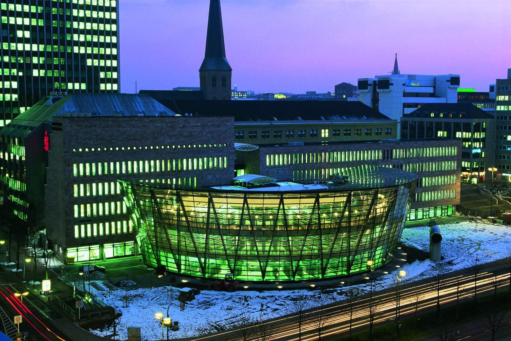 ماریو بوتا Stadt- und Landesbibliothek (Central library) in Dortmund