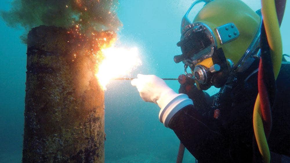 ویژگی جوشکاری زیر آب