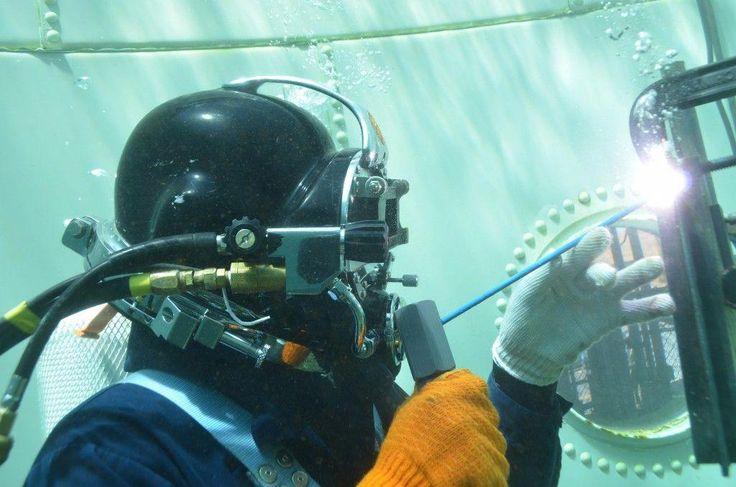 اجرای جوشکاری زیر آب