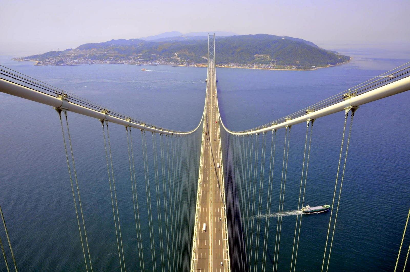 پل آکاشی کای کیو عکس برترین پل ژاپن