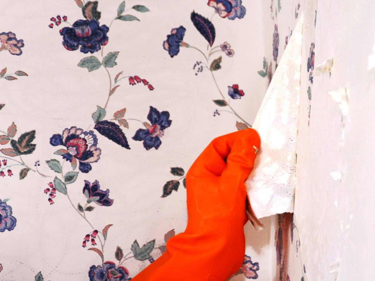 روش های کندن آسان کاغذ دیواری استوارسازان
