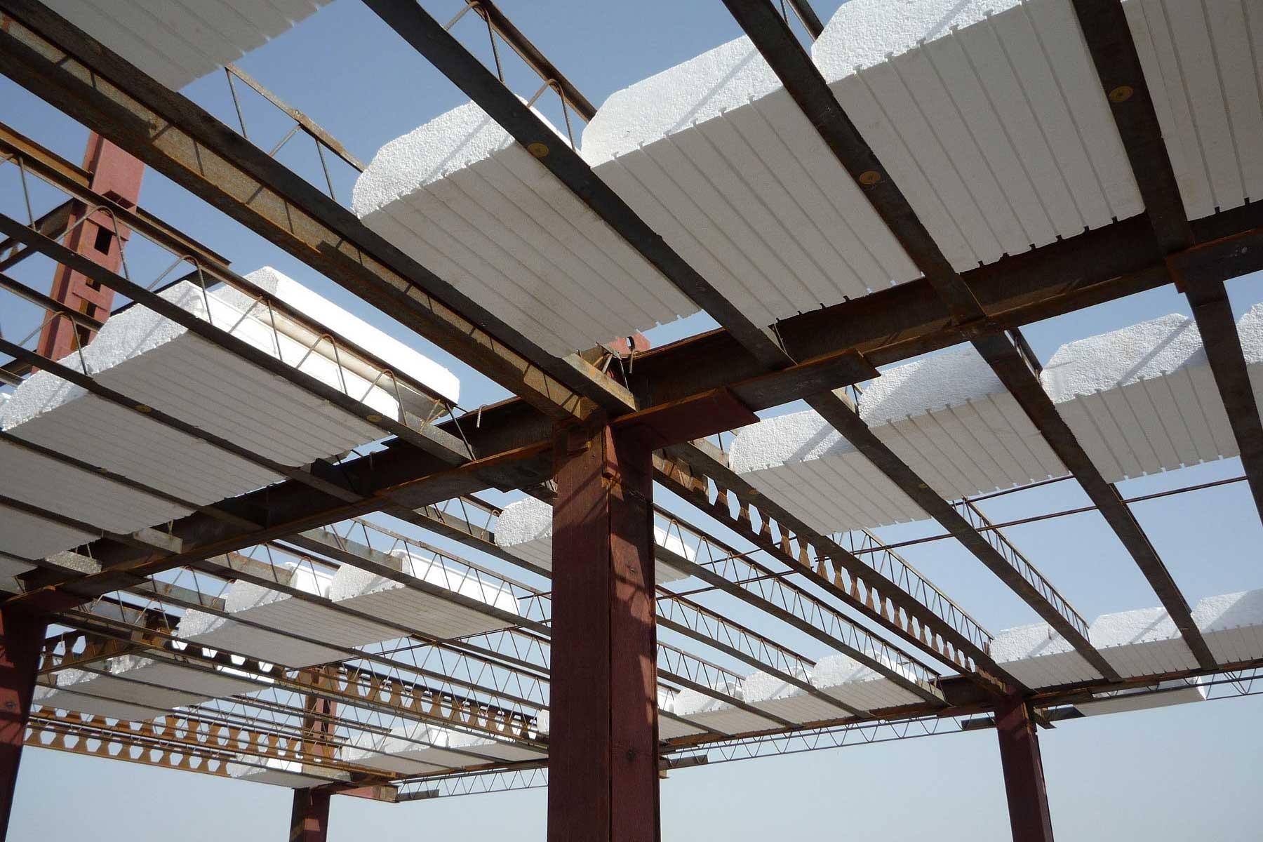 اجزای سقف تیرچه یونولیت استوارسازان