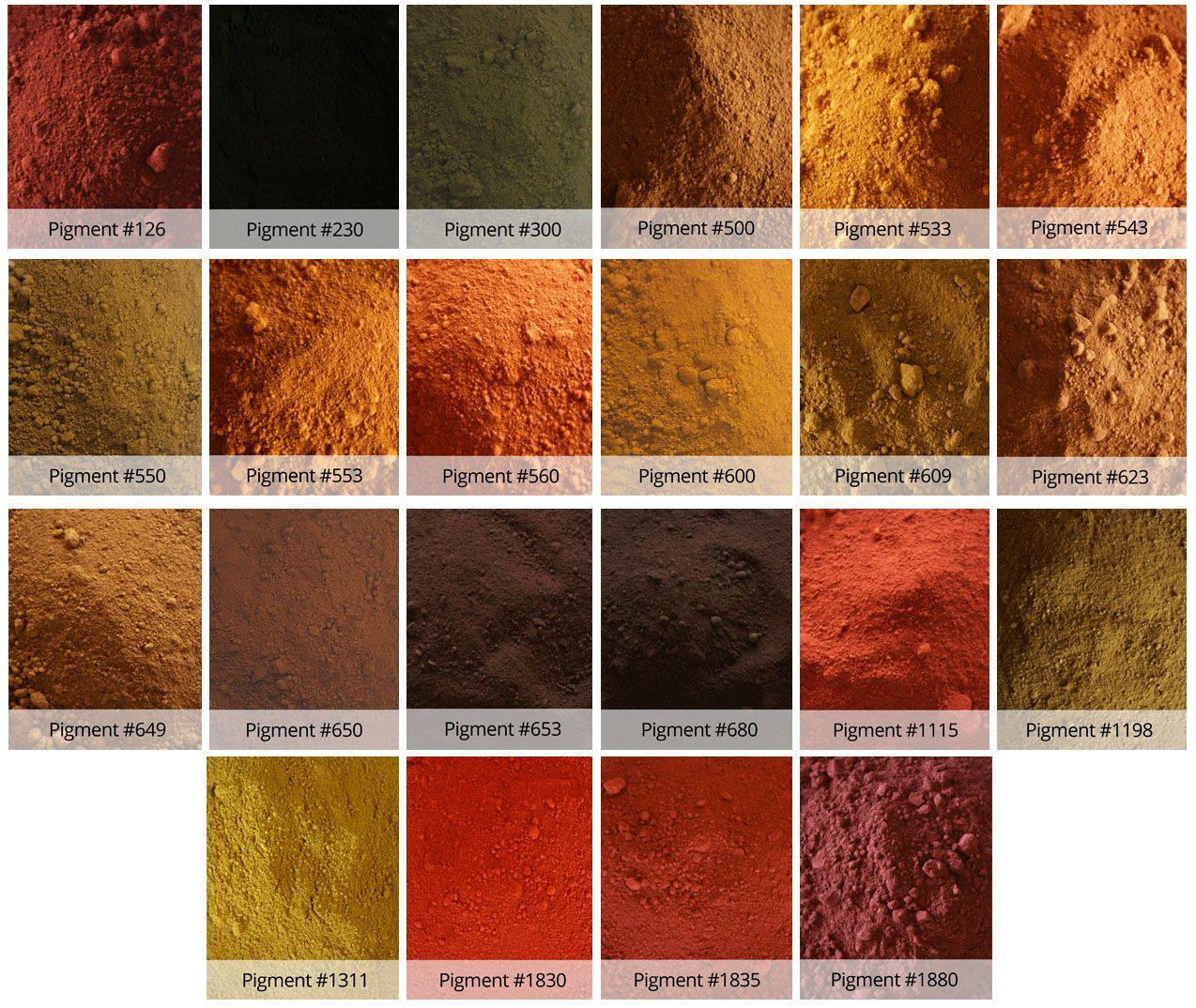 انواع سیمان رنگی استوارسازان