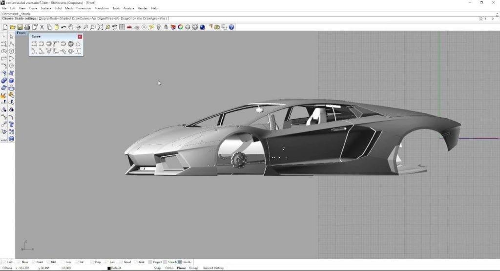 مدل سازی با نرم افزار راینو - استوارسازان