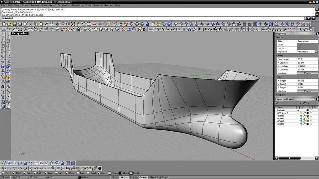 مدل سازی 3 بعدی با نرم افزار راینو - استوارسازان